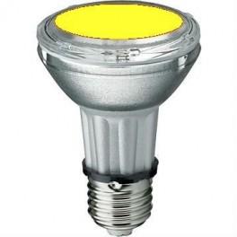 Лампа BLV HIT-PAR 20 35W ye E27 35W 95V 0,5 A 20000cd 6000h u360 желтая - цветная