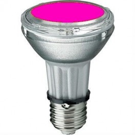 Лампа BLV HIT-PAR 20 35W mg E27 35W 95V 0,5 A 3700cd 6000h u360 маджента - цветная