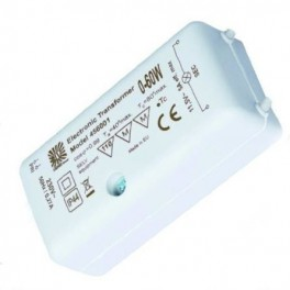 BLV LUXIA TRAFO 0- 60W 230V/12V IP44 72х35х25 - транс для светодиодок и галогена