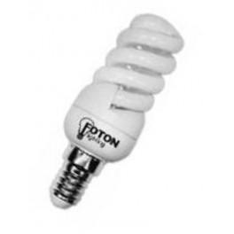 Лампа ESL QL9 15W 6400K E14 ПОЛНАЯ СПИРАЛЬ d48X120 FOTON АКЦИЯ!