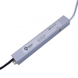 FL-PS TP12020 Pout= 20Вт, Uout=12В, Uin=175-240В, IP67, 185x30x20mm, 240г - метал. герм. транс-тор