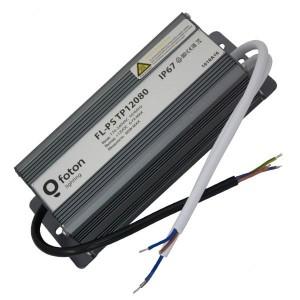 FL-PS TP12080 Pout= 80Вт, Uout=12В, Uin=175-240В, IP67, 180x70x45mm, 980г - метал. герм. транс-тор