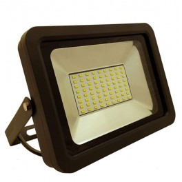 FL-LED Light-PAD 70W Grey 2700К 5950Лм 70Вт AC220-240В 275x200x33мм 1640г - Прожектор