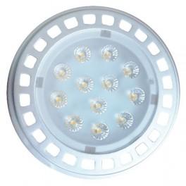 Лампа FL-LED AR111 16W 30 град. 6400K 12VAC/DC G53 111x69мм, 1250lm