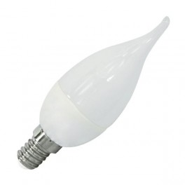Лампа FL-LED CA37 7.5W E14 6400К 220V 700Лм 37*108мм FOTON_LIGHTING свеча на ветру