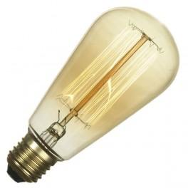 Лампа FL-Vintage ST64 60W E27 220В 64*146мм FOTON_LIGHTING - ретролампа накаливания груша