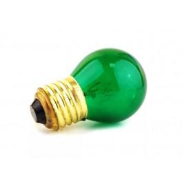 Лампа DECOR P45 CL 10W E27 GREEN (230V) FOTON_LIGHTING (S102)