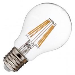 Лампа FL-LED Filament A60 6W E27 3000К 220V 600Лм 60*109мм FOTON_LIGHTING груша прозрачная