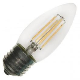 Лампа FL-LED Filament C35 6W E27 3000К 220V 600Лм 35*98мм FOTON_LIGHTING свеча прозрачная