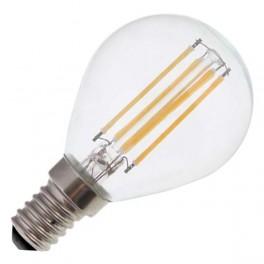 Лампа FL-LED Filament G45 6W E14 3000К 220V 600Лм 45*75мм FOTON_LIGHTING шарик прозрачная