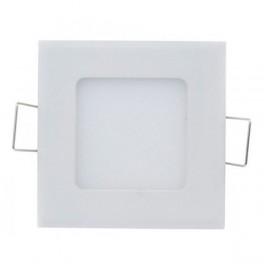 FL-LED PANEL-Q12 4000K L=166мм h=20мм W=155мм 12Вт 1080Лм (светильник встр. квадрат)