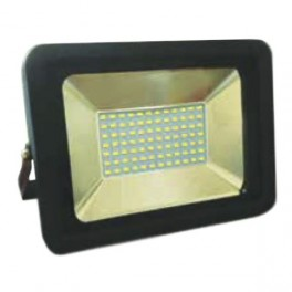 FL-LED Light-PAD 10W Black 6400К 850Лм 10Вт AC220-240В 140x125x25мм 385г - Прожектор