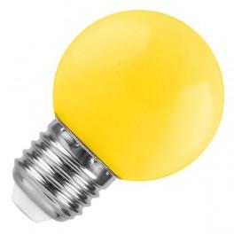 Лампа FL-LED DECO-GL45 1W E27 YELLOW 230V E27 желтый (LED шарик) FOTON