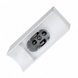 Лампа FL-Socket S14d Plastic White FOTON_LIGHTING - патрон LEDnear одноцокольная