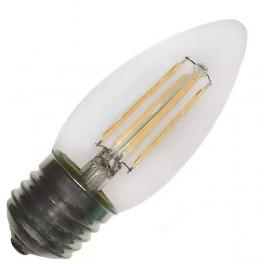 Лампа FL-LED Filament C35 7.5W E27 3000К 220V 750Лм 35*98мм FOTON_LIGHTING свеча прозрачная