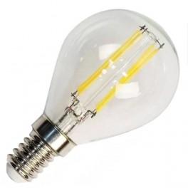 Лампа FL-LED Filament G45 7.5W E14 3000К 220V 750Лм 45*75мм FOTON_LIGHTING шарик прозрачная