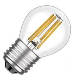 Лампа FL-LED Filament G45 7.5W E27 3000К 220V 750Лм 45*75мм FOTON_LIGHTING шарик прозрачная