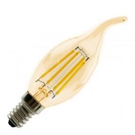 Лампа FL-LED Vintage C35 6W E14 2200К 220V 600Лм 35*117 мм FOTON_LIGHTING свеча на ветру