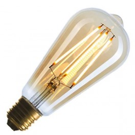 Лампа FL-LED Vintage ST64 10W E27 2200К 220V 1000Лм 64*140 мм FOTON_LIGHTING