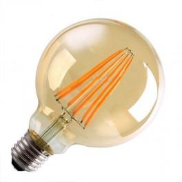 Лампа FL-LED Vintage G125 10W E27 2200К 220V 1000Лм 125*173мм FOTON_LIGHTING шарик