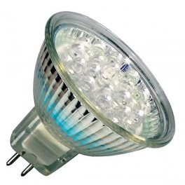 Лампа HRS51 2W LED21 GU5.3 WARM WHITE (230V - 240V, 90lm)