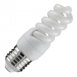 Лампа ESL QL7 9W 6400K E27 ПОЛНАЯ СПИРАЛЬ d31X87 FOTON (Е009)