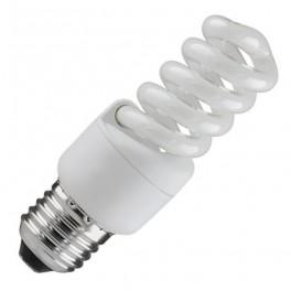 Лампа ESL QL7 13W 6400K E27 ПОЛНАЯ СПИРАЛЬ d40X89 FOTON (Е015)