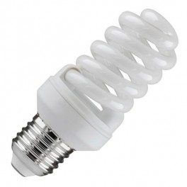 Лампа ESL QL7 15W 6400K E27 ПОЛНАЯ СПИРАЛЬ d46X98 FOTON (Е018)