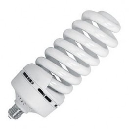 Лампа ESL QL17 85W 6400K E27 ПОЛНАЯ СПИРАЛЬ d105X270 FOTON (Е114)