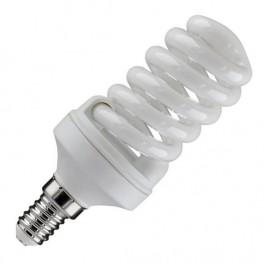 Лампа ESL QL7 13W 6400K E14 ПОЛНАЯ СПИРАЛЬ d40X89 FOTON (Е034)