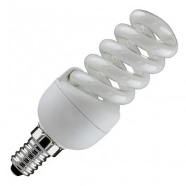 Лампа ESL QL7 11W 6400K E14 ПОЛНАЯ СПИРАЛЬ d32X97 FOTON (Е006)