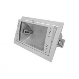FL-2000M BOX 70W Rx7s White встройка 212x122 поворотный прозрач перфорация 231x146