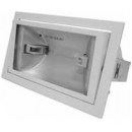 FL-2000N BOX 150W Rx7x White встройка 212x122 поворотный прозрач 228x138