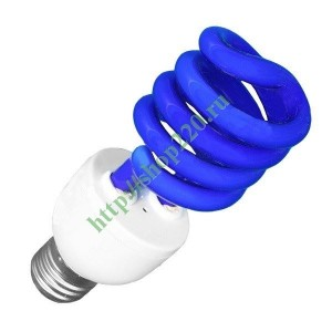 Лампа ESL L9 20W BLUE E27 СПИРАЛЬ d48X127 FOTON (E076)