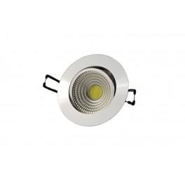 FL-LED Consta B 7W White 6400K белый 7Вт 560Лм (светильник встр. пов.)(S411) D=85мм d=68мм h=45мм