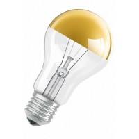 Лампы накаливания DECOR GOLD, SILVER A (Золотой, Серебряный купол Стандарт)