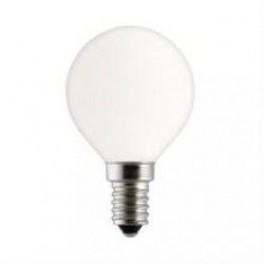 Лампа GE 25DK1/O/E14 230V 2/20 шарик опаловый d=45