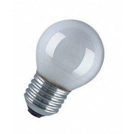 Лампа GE 25 DK1/O/E27 230V 2/20 шарик КРИПТОН опаловый d=45
