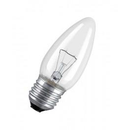 60C1/CL/E27 60W лампа накал. свеча прозр. GE Brest