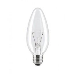 Лампа GE 60C1/CL/E14 230V (Венгрия) - прозрачная свеча