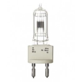 Лампа GE CP/110 OC-1200W 80V G22 3300K d25x140 300h