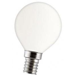 Лампа GE 60DK1/O/E14 230V 2/20 шарик КРИПТОН опаловый d=45