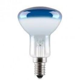Лампа GE 40R50/B/E14 230V (зеркальная D50mm синяя прозрачная)