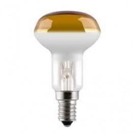 Лампа GE 40R50/Y/E14 230V (зеркальная D50mm жёлтая прозрачная)