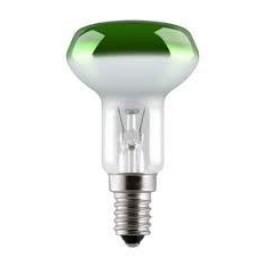 Лампа GE 40R50/G/E14 230V (зеркальная D50mm зелёная прозрачная)