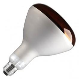 Лампа GE 250R/IR/R/E27 240V красная