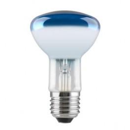Лампа GE 60R80/B/E27 230V (зеркальная D80mm синяя прозрачная)