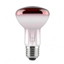 Лампа GE 40R63/R/E27 230V (зеркальная D63mm красная прозрачная)