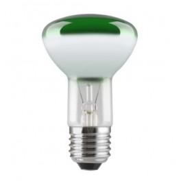 Лампа GE 40R63/G/E27 230V (зеркальная D63mm зелёная прозрачная)