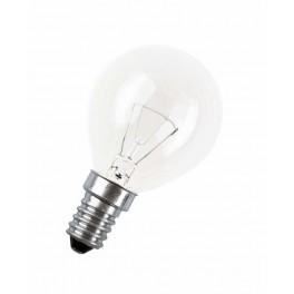 60D1/CL/E14 60W лампа накал. капля прозр. GE Brest